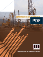Placement Brochure for Civil