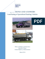 Load Rating of Specialized Hauling Services