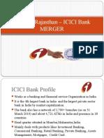 Bank Of Rajasthan – ICICI Bank