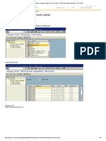 How to Maintain Shifts for Work Center - ERP Manufacturing (PP) - SCN Wiki