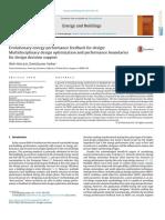 Evolutionary Energy Performance Feedback for Design Multidisciplinary Design Optimization and Performance Boundaries for Design Decision Support