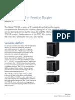 Nokia 7750 SR-e Service Router Data Sheet En