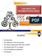 01 the Need of Pharmacovigilance
