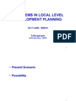 Problems in Local Level Development Planning at Bmich [Compatibility m