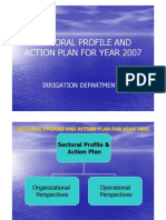 Sectoral Profile and Action Plan for Year 2007 [Compatibility m