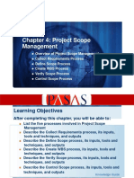 Chapter 4 - Project Scope Management