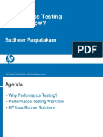 Performance Testing Why and How