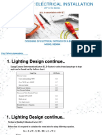 Electrical Installation-Sample Design Lighting