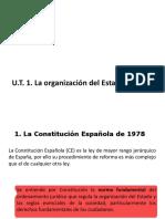 U.T.1-La organización del Estado español