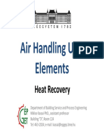 AHU Elements Heat Recovery