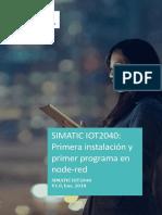 IoT2040 - Primeros pasos