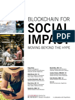 Study Blockchain Impact Moving Beyond Hype