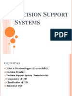 Decision Support SystemsDSS