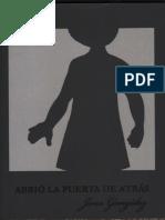 """""""Abrió la puerta de atrás"""" de Jone González"""