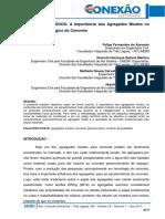 211 AGREGADOS MIÚDOS a Importância Dos Agregados Miúdos No Controle Tecnológico Do Concreto. Pág. 2079 2086