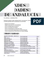 As 30 20-27 Grandes Cavidades de Andalucia- 2018