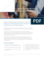 Nanigans - European Facebook Advertising Benchmark Report