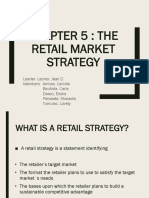 Chapter 5 Retail Market Strategy