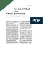 AAVV_Curaduria_la Definicion de Un Nuevo Campo Profesional