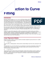 Introduction to Curve Fitting