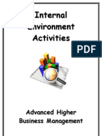 AHBM Internal Environment Activities