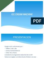 Ice Cream Machine Diapositiva