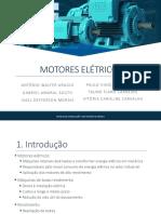 Apresentação_Motores Elétricos