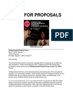 2018 call for proposals final