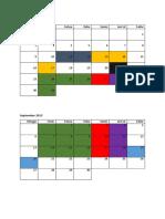 Timetable PODS 2015 Dari Hanif
