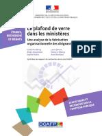 Le plafond de verre dans les ministères