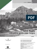 Silvio Saglio e le prime guide delle Grigne