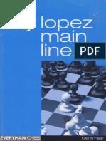The Ruy Lopez Main Line Book
