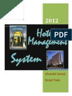 Hotel Management System