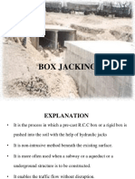 1.1 BOX JACKING