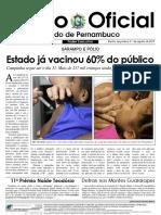 Edital - Secretaria de Saúde de Pernambuco