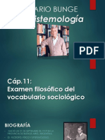 Mario Bunge- Epistemología