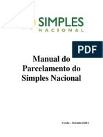 Manual Aplicativo Parcelamento a Pedido 10 2014
