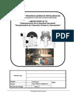 Lab 1 - 2018 - Granulometria Chancado - % Humedad
