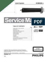 Philips Dcm5090 Ver.1.0