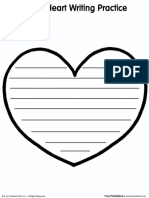 Heart Writing Practice 2