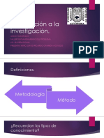 Repaso e Introduccion a La Metodologia de La Investigacion