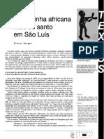 Verger Rainha Africana Mae de Santo Sao Luis