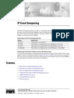 Cisco IP Dampening
