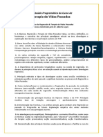Conteúdo Programático TVP 2013