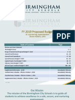 BCS Aug 17 Final FY 2019 Proposed Budget Presentation August 21 2018