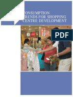 Consumption Trend for Shopping Center Development