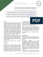La Gestión Docente en La Diversidad Científica de La Educación