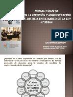 PPT Poder Judicial - Presentación Elvia Barrios