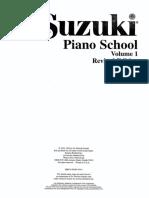 Suzuki Cello Vol.1 - Acompañamiento Al Piano