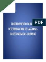 Zonas Geoeconomicas Urbanas Llano Ariel 2010 Presentacion